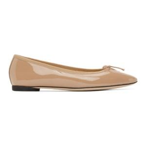 Repetto Beige Patent Narde Ballerina Flats
