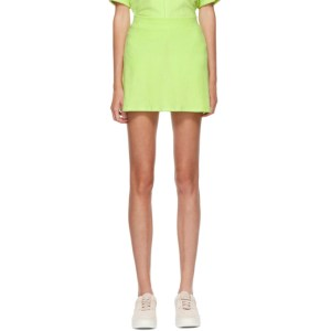 Gil Rodriguez SSENSE Exclusive Green Terry Tennis Skirt