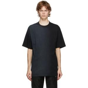 C2H4 Black Sprayed T-Shirt