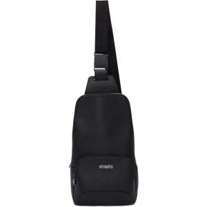 Axel Arigato Black Saffiano Sling Bag
