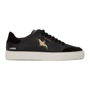 Axel Arigato SSENSE Exclusive Black Bird Clean 90 Sneakers