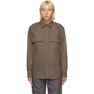 GR10K Taupe Klopman Shirt Jacket