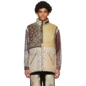 Children of the Discordance Reversible Multicolor Patchwork Bandana Vest