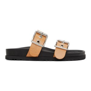 Vivienne Westwood Tan Alex Trek Sandals