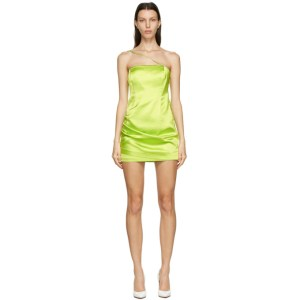 Gauge81 Green Pasto Short Dress