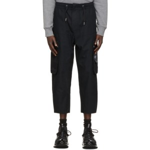 Li-Ning Black Loose Cargo Pants