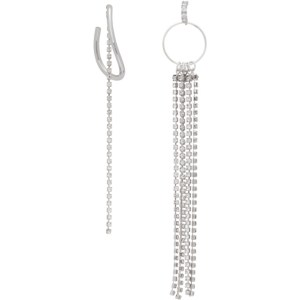 Mounser Silver Splash Earrings