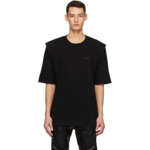 Juun.J Black Logo T-Shirt