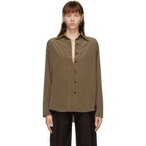 Eftychia Khaki Closed Shirt