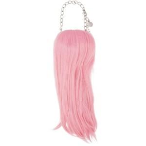 Comme des Garcons Homme Plus Pink Hair Necklace