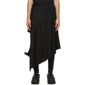 Comme des Garcons Homme Plus Black Blazer Skirt