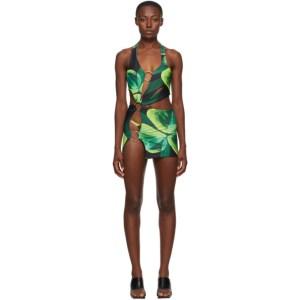 Louisa Ballou SSENSE Exclusive Green Sex Wax Dress