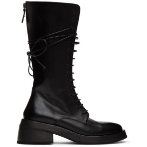 Marsell Black Fondello Boots