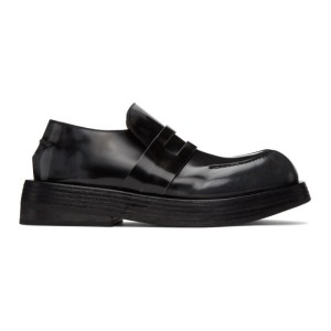Marsell Black Musona Loafers