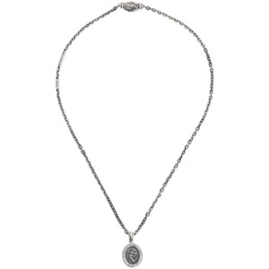 Martyre Silver Small Sinner Necklace