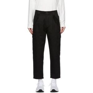 C.P. Company Black Cotton Cargo Pants