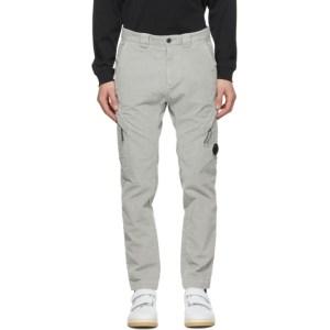 C.P. Company Grey Corduroy Cargo Pants