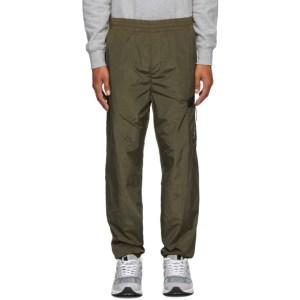 C.P. Company Green Nylon Track Pants