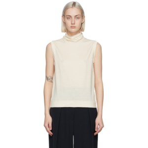 The Row Off-White Bokkai Turtleneck