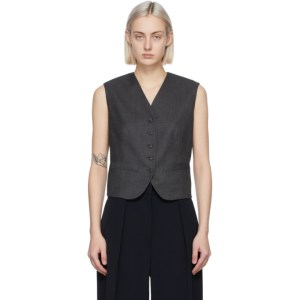 The Row Grey Vega Vest