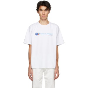 Rassvet White Logo Stream 7 T-Shirt
