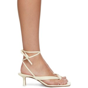 NEOUS Off-White Situla 55 Heeled Sandals