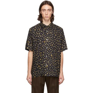 Davi Paris Black Ciel Etoile Short Sleeve Shirt