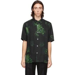 Davi Paris Black Nyx Short Sleeve Shirt