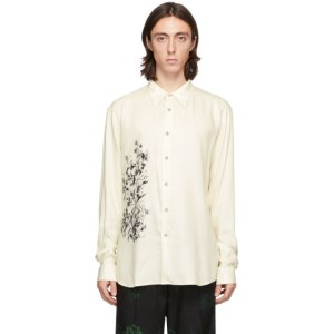 Davi Paris Off-White Herbarium Shirt