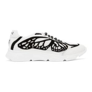 Davi Paris White and Black Monarca 0.1 Sneakers