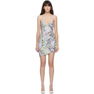 Maisie Wilen SSENSE Exclusive Blue Party Girl Dress