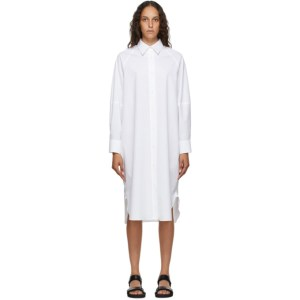 Arch The White Cotton Shirt Dress
