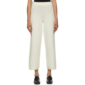 Arch The Off-White Cashmere and Wool Lounge Pants