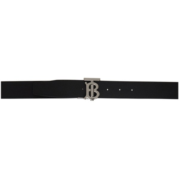 Burberry Reversible Black and Brown TB Belt