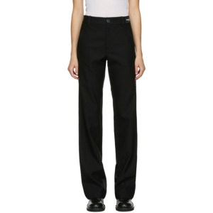 Ann Demeulemeester SSENSE Exclusive Black God Of Wild Advise Trousers
