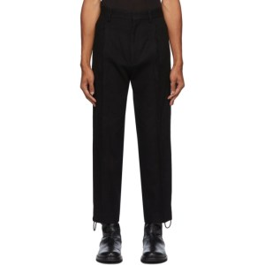 Ann Demeulemeester Black Morris Trousers