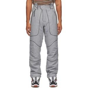 Boramy Viguier Grey Wool Hiking Trousers