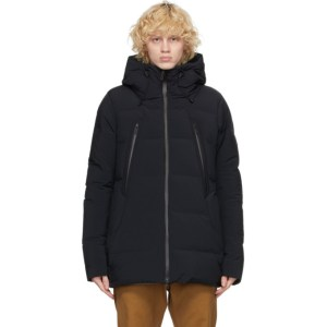 Descente Allterrain Black Down Mizusawa Mountaineer-HC Coat