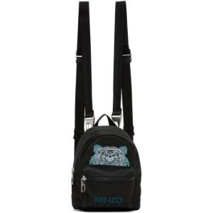 Kenzo Black Mini Kampus Backpack