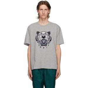 Kenzo Grey Tiger Skate T-Shirt