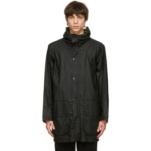 Barbour Black Barbour Hiking Wax Jacket