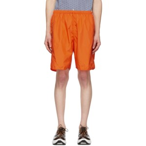 BEAMS PLUS Orange MIL Athletic Shorts