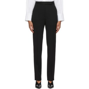 Partow Black Wool Anita Trousers