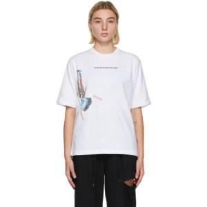 Youths in Balaclava White Logo T-Shirt