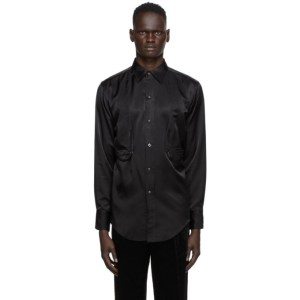Sasquatchfabrix. Black Ventilation Western Shirt