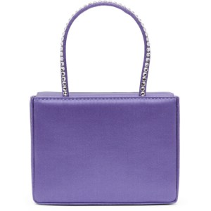 Amina Muaddi Purple Super Amini Gilda Bag