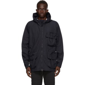 Snow Peak Navy C/N Parka Jacket