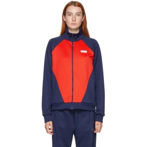 adidas LOTTA VOLKOVA Red and Navy Podium Track Jacket