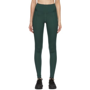 Girlfriend Collective Green High-Rise Compressive Leggings