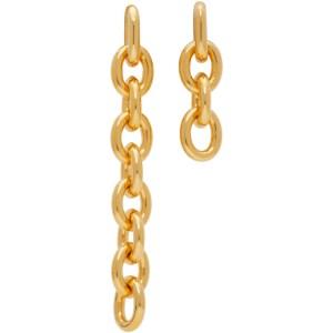 Numbering Gold 841 Earrings